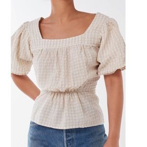 Urban Outfitters puff sleeve top